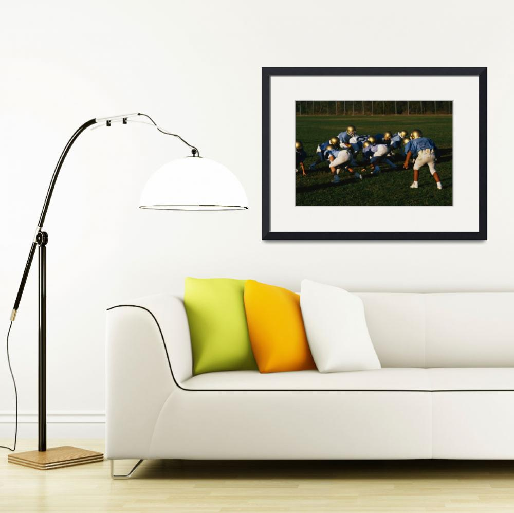 """Junior Football Practice""  by Panoramic_Images"