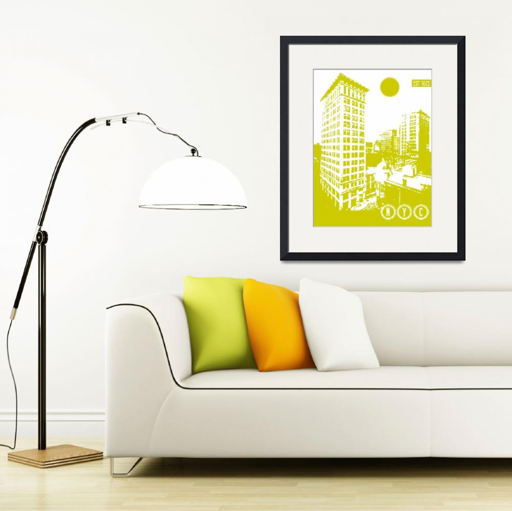 """""""New York City Poster""""  by motionage"""