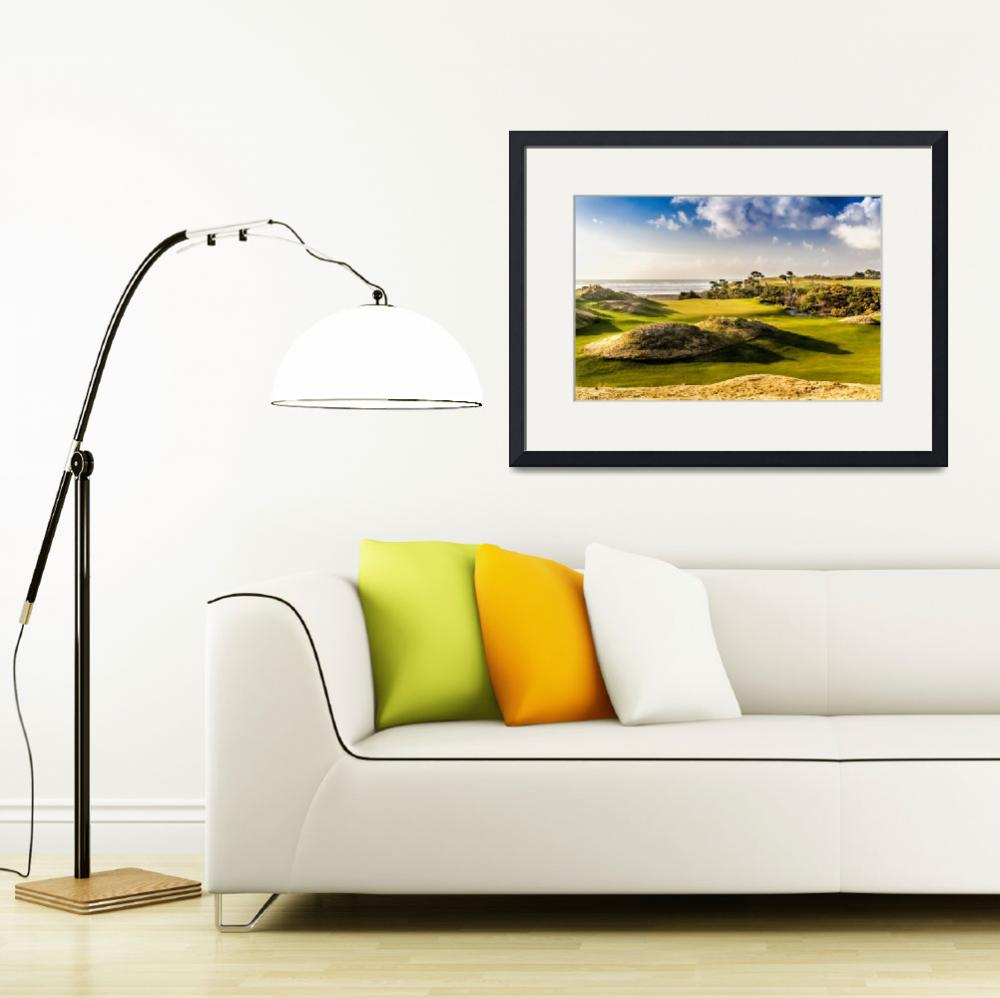 """""""Bandon Preserve Golf Course&quot  (2013) by centioliphotography"""