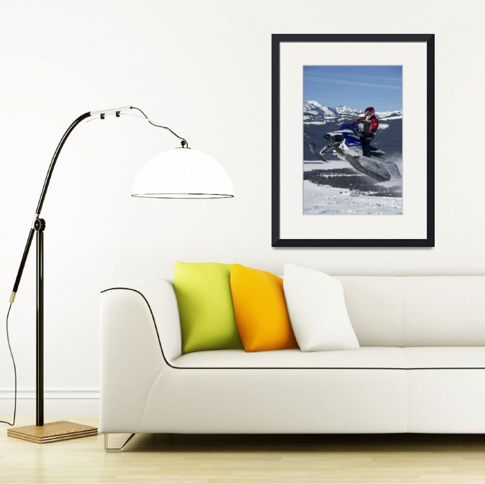 """""""Sky High Snowmobile&quot  by KalmbachPublishing"""
