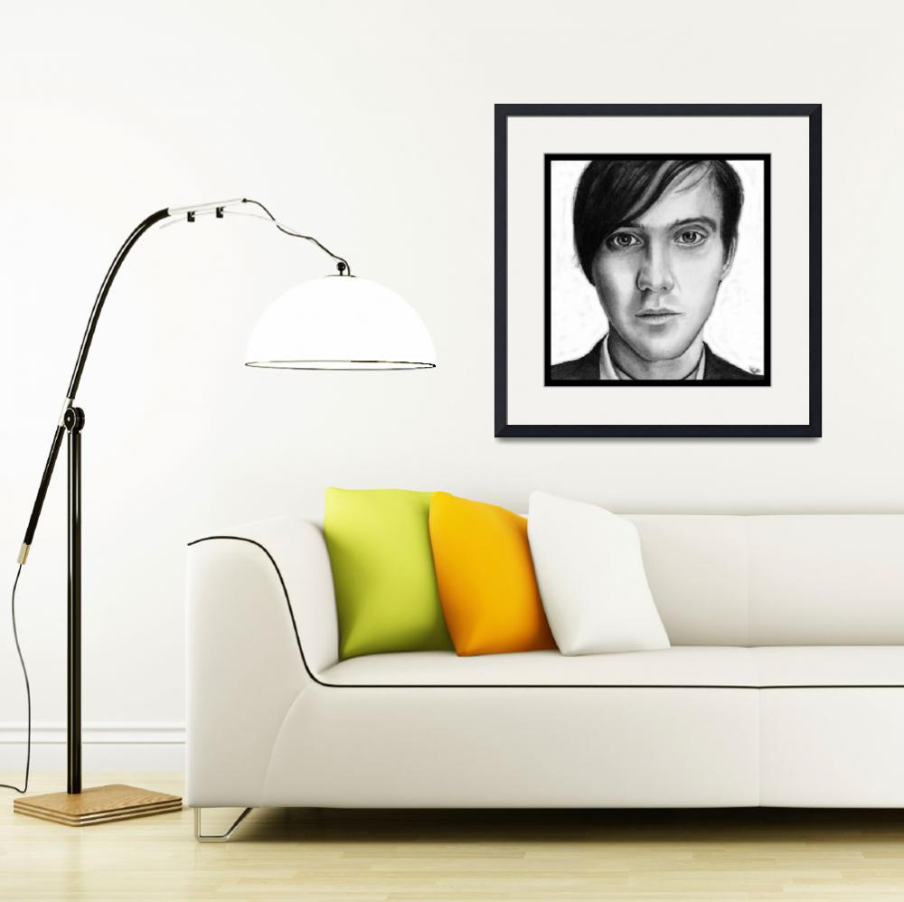 """""""Conor Oberst&quot  (2010) by ArtByAlycia"""