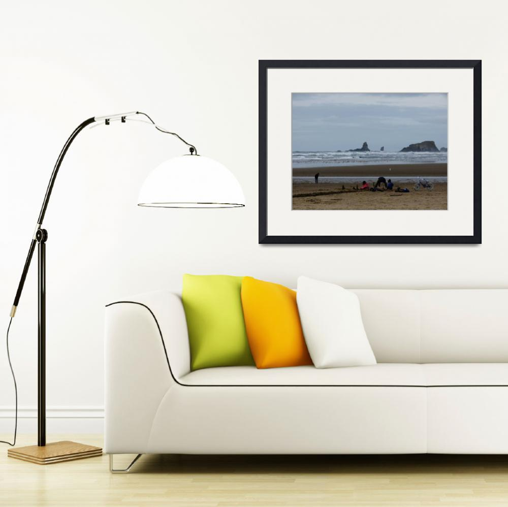 """""""Sunday at Cannon Beach, Oregon&quot  by rgtmum"""