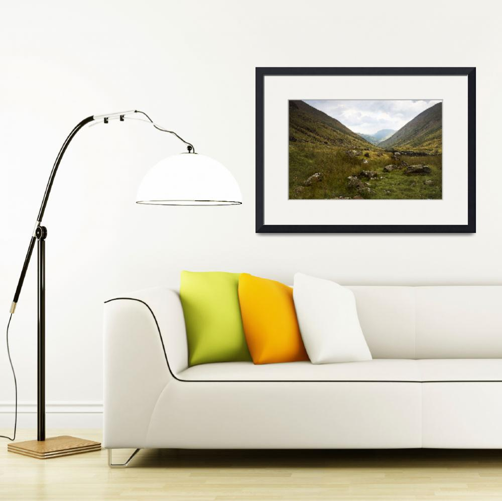 """Looking towards Brotherswater&quot  by landscapesandseascapes"