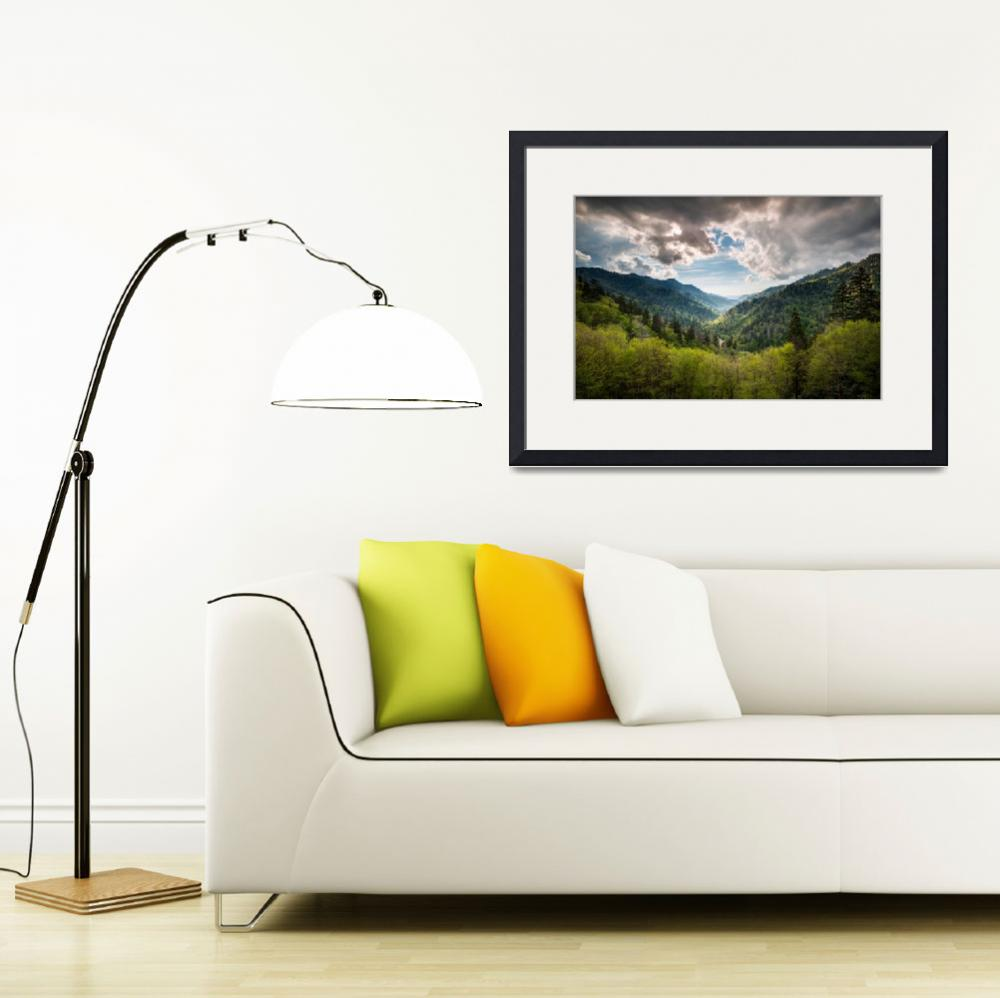 """Great Smoky Mountains Landscape Photography - Spri&quot  (2012) by DAPhoto"