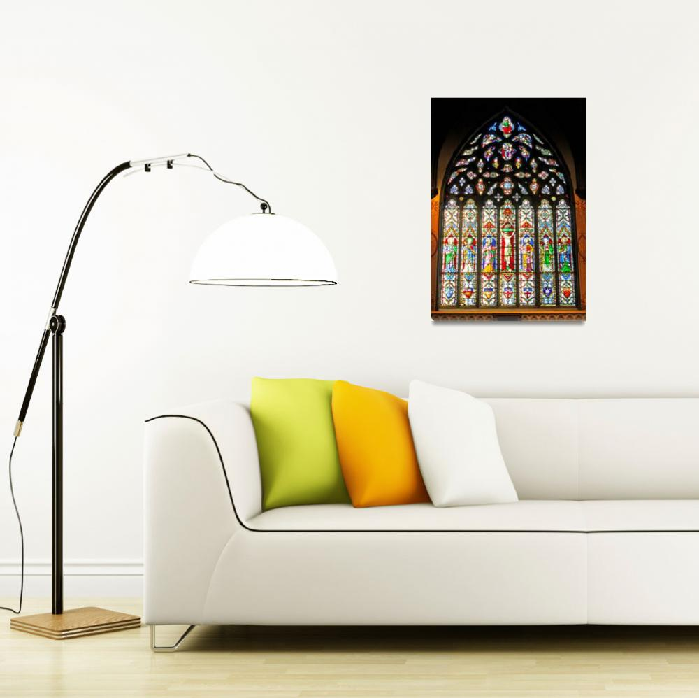 """""""East Stained Glass Window Christ Church Cathedral&quot  (2010) by Markomarko"""