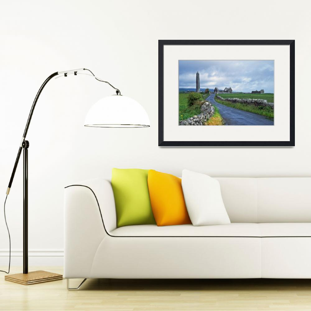 """""""Ruins of Kilmacduagh Monastery&quot  by donjo"""