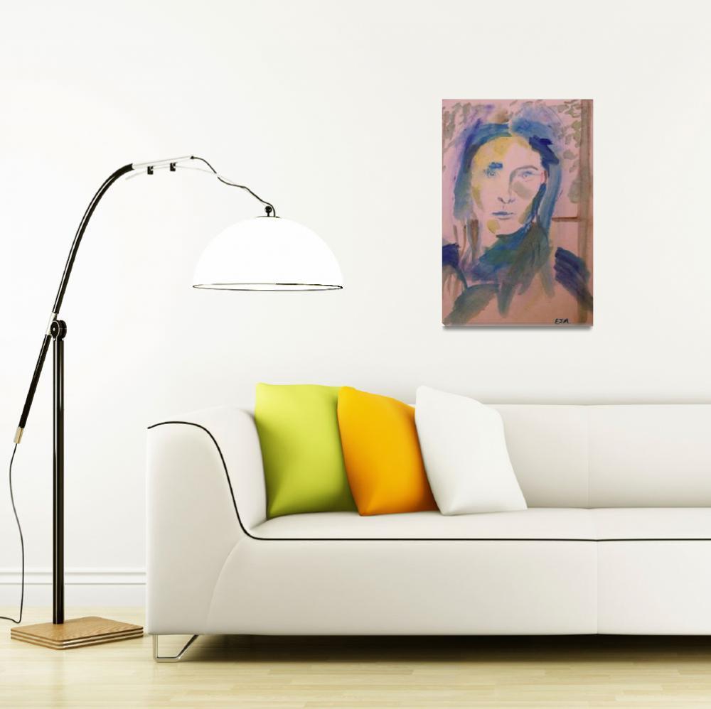 """Self Portrait""  by TICKETTOFREEDOM"