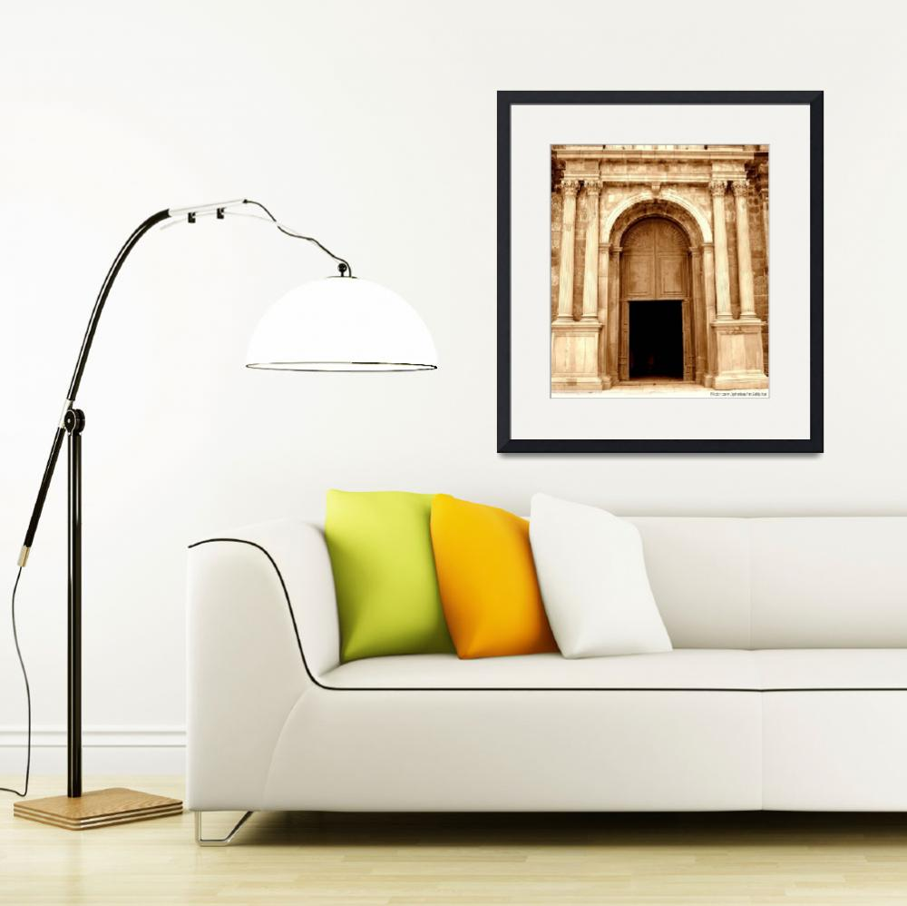 """""""The Entrance to Basilica of Bom Jesus&quot  (2008) by robinngeorge"""
