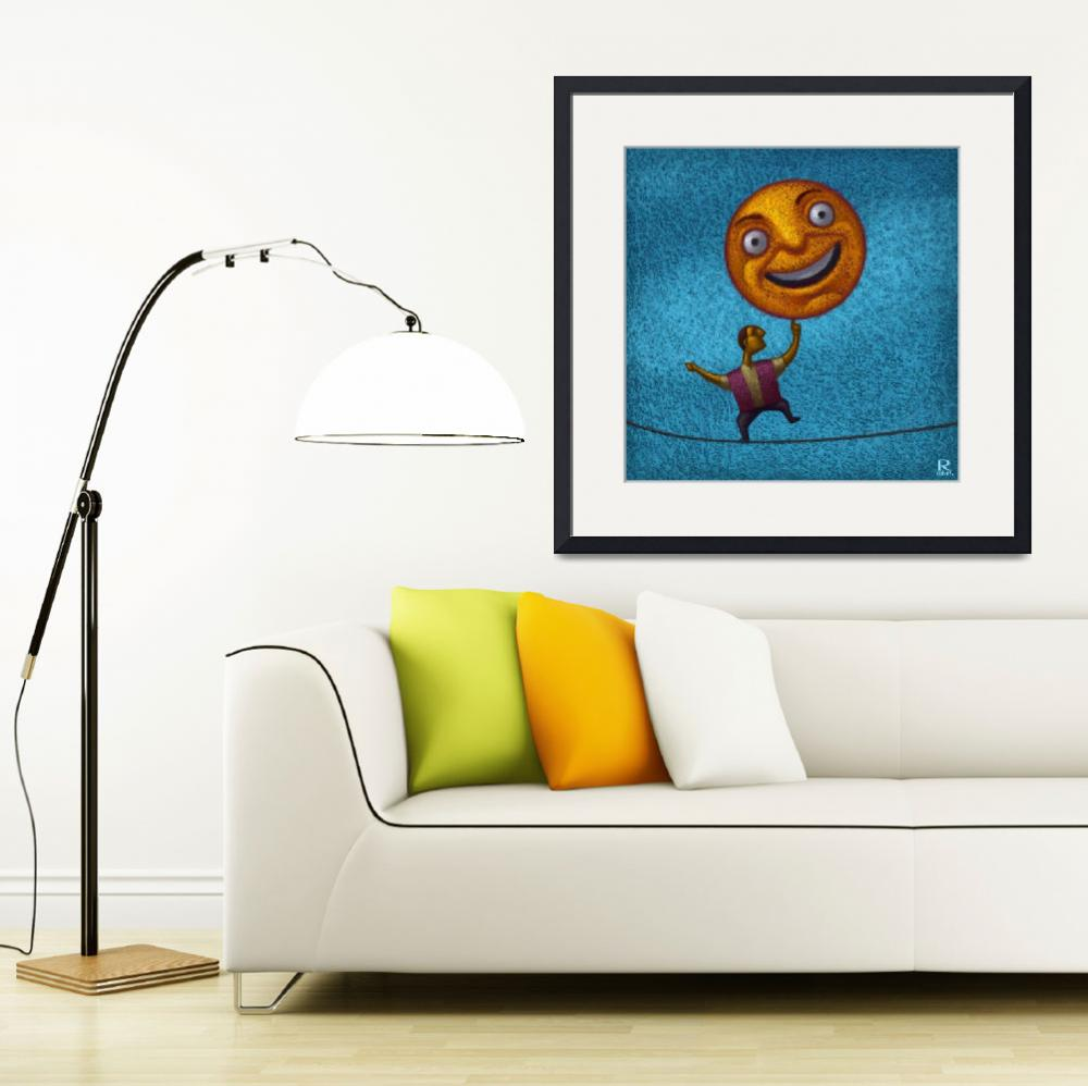 """""""Happy Balance&quot  (2013) by robcolvin"""