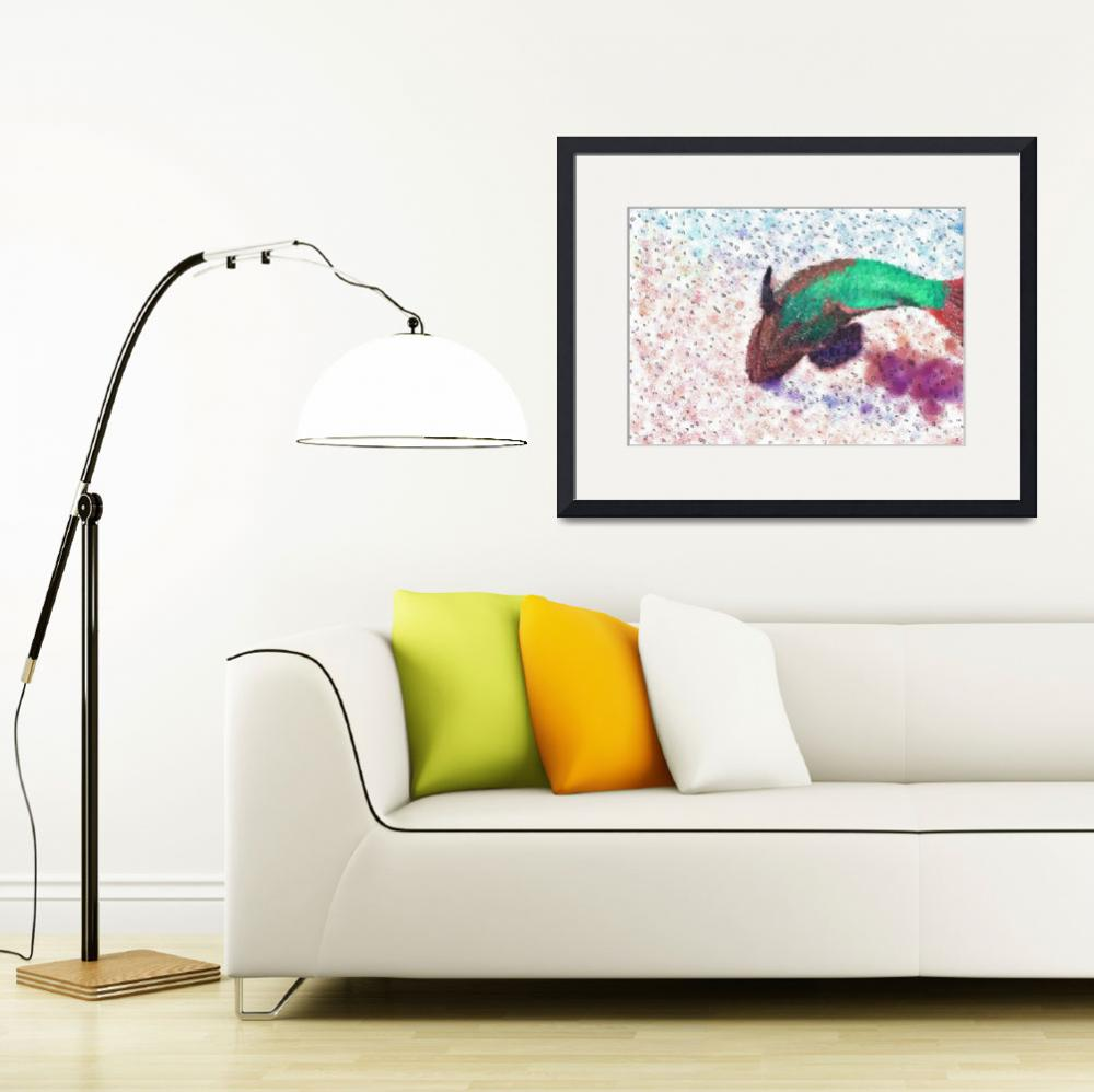 """""""Colourful fish on the reef&quot  (2013) by Jaymee"""