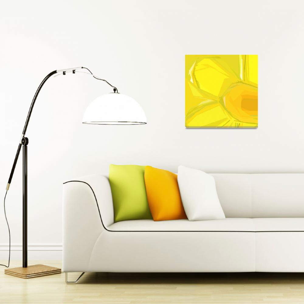 """""""Daffodil Early Spring&quot  (2010) by MikeCressy"""