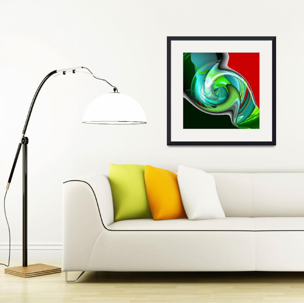 """""""All Twisted Up&quot  (2008) by ArtPrints"""