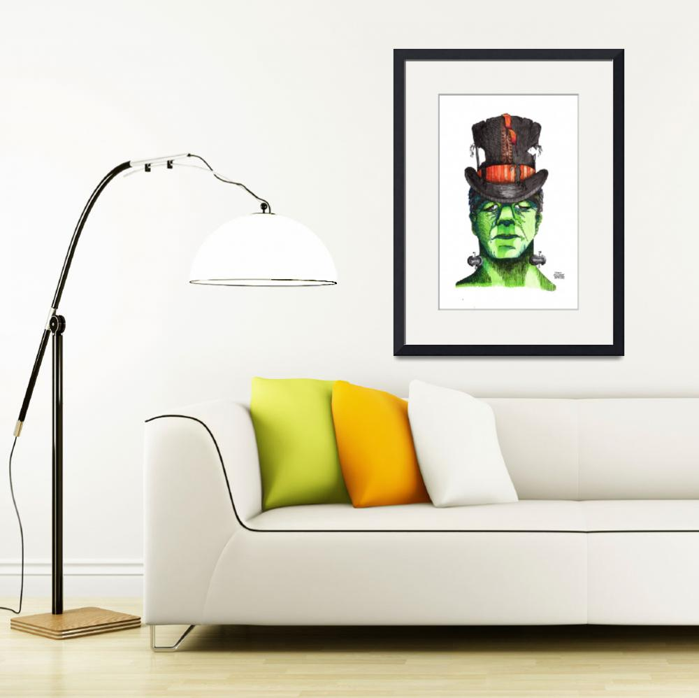 """""""Frankenstein&quot  (2017) by tawncrosbyshivers"""