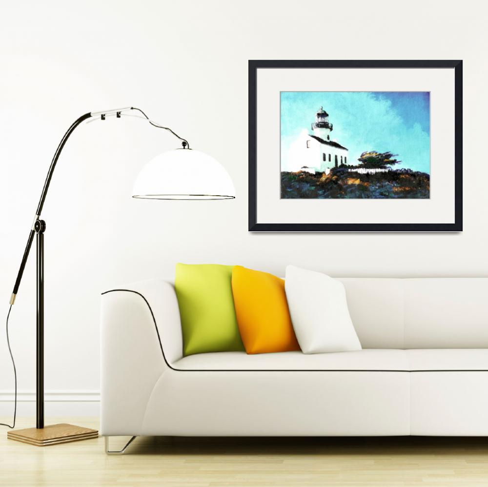 """Old Point Loma Light House by Riccoboni&quot  (2007) by RDRiccoboni"