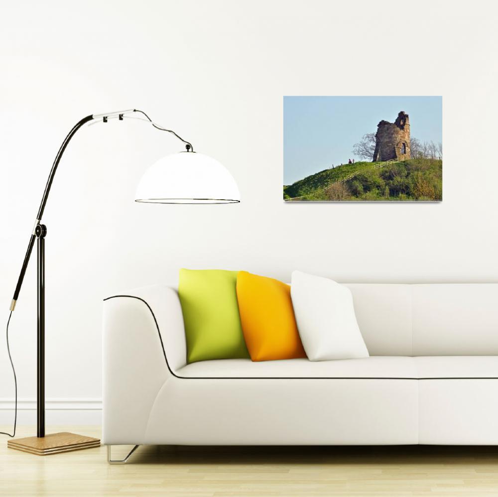 """Tutbury Castle, Ruins  (16443-RDA)&quot  (2009) by rodjohnson"