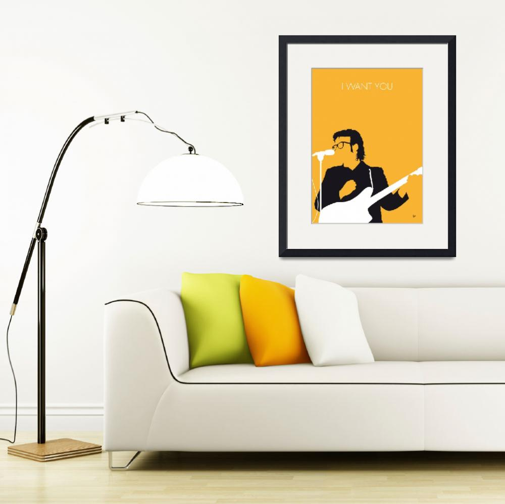 """No067 MY ELVIS COSTELLO Minimal Music poster&quot  by Chungkong"