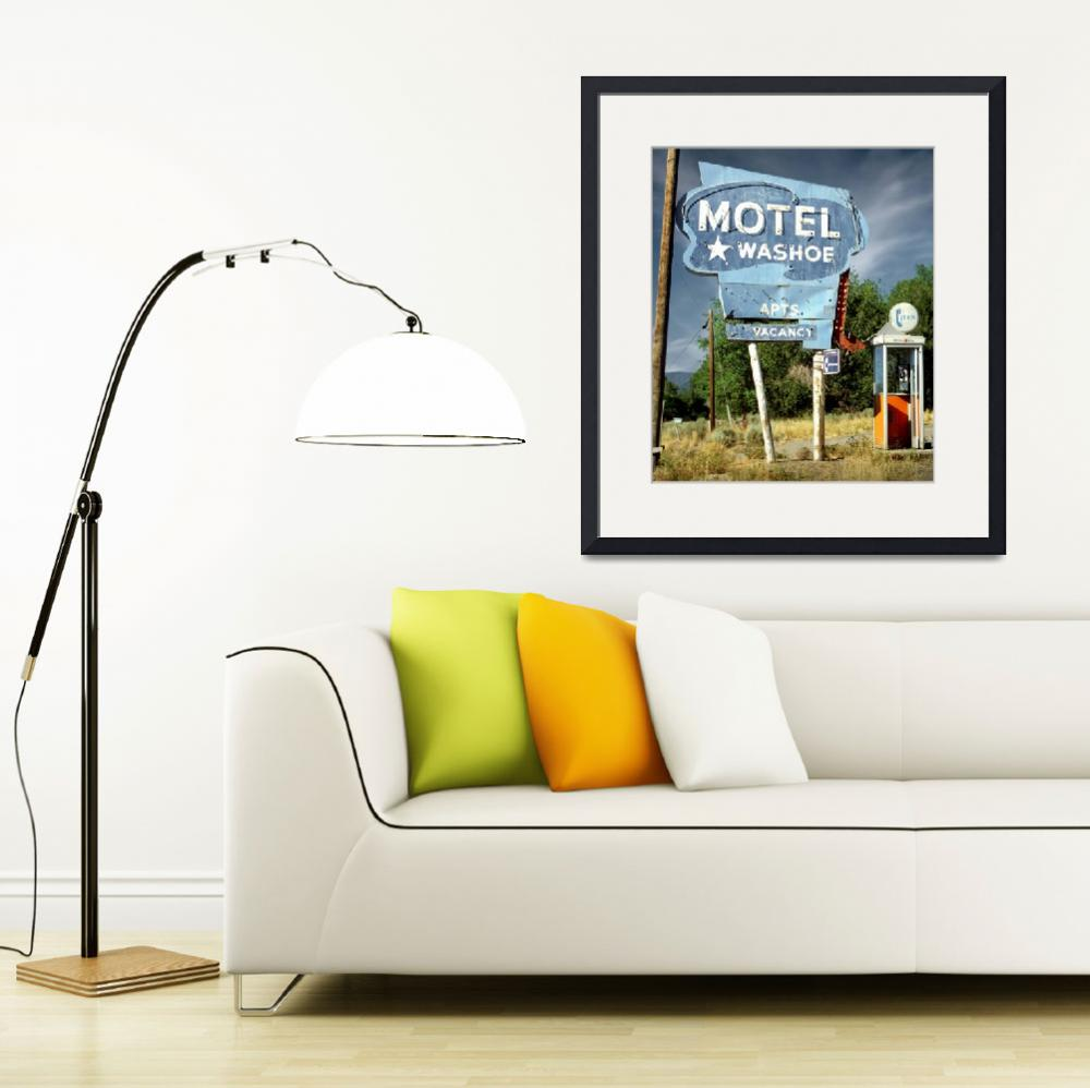 """""""Motel Washoe&quot  (2019) by cr8tivguy"""