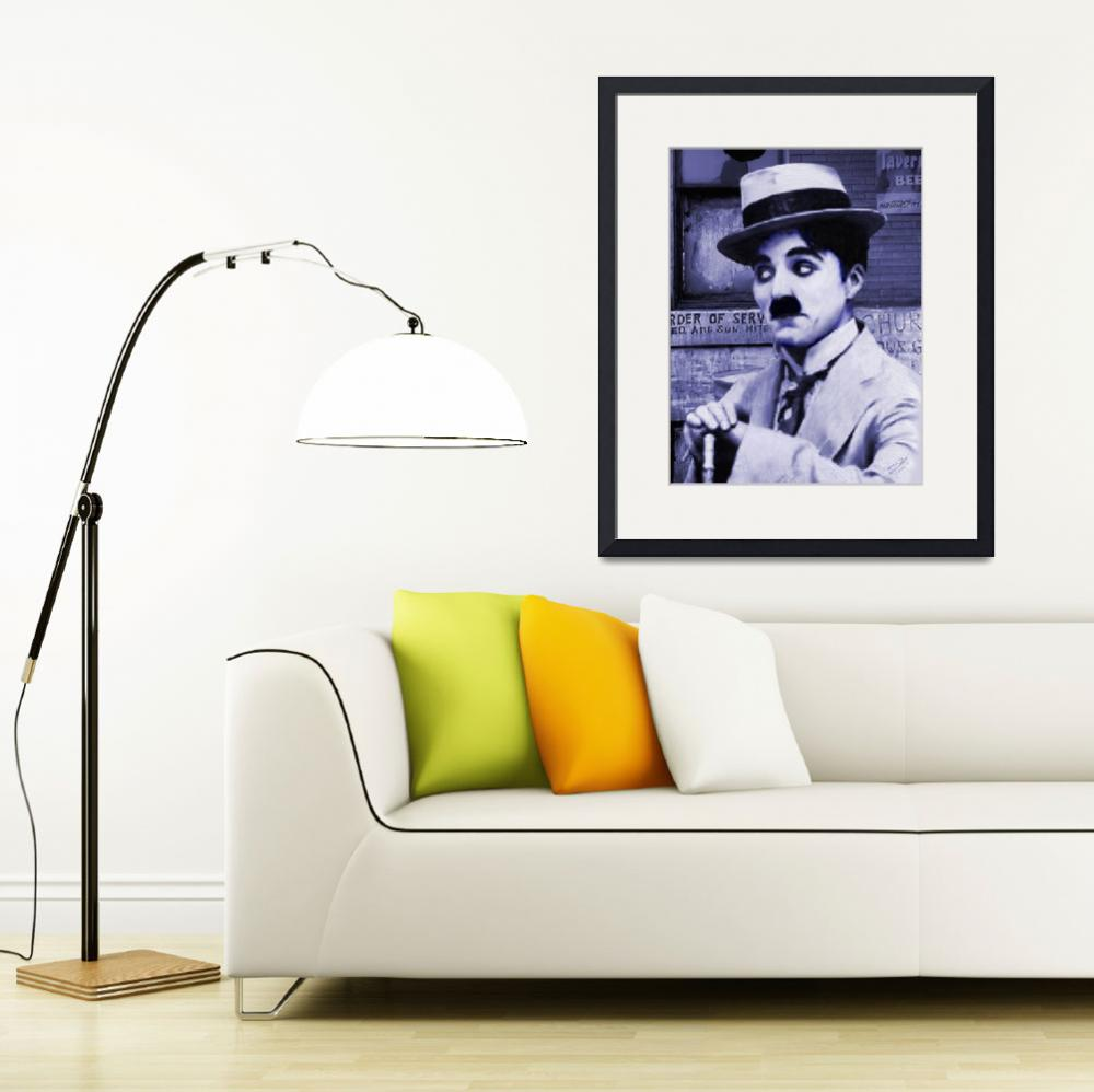 """""""Charlie Chaplin&quot  (2014) by spadecaller"""