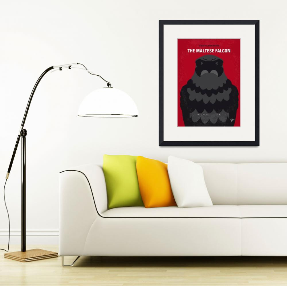 """No780 My The Maltese Falcon minimal movie poster""  by Chungkong"