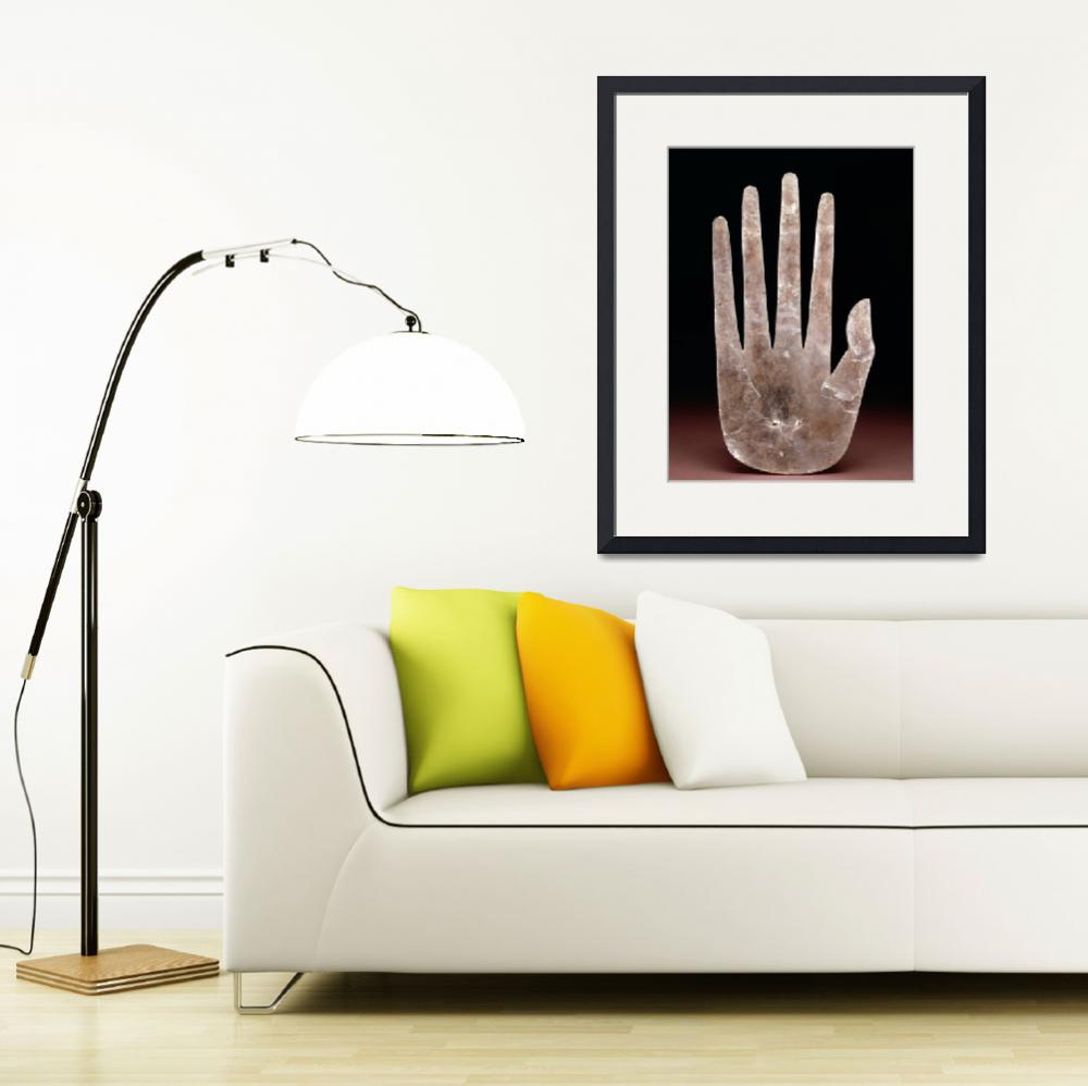 """Hand by Ohio Hopewell culture&quot  by fineartmasters"