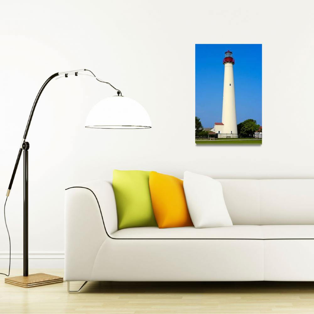 """""""Cape May Lighthouse""""  (2005) by photocatphoto"""