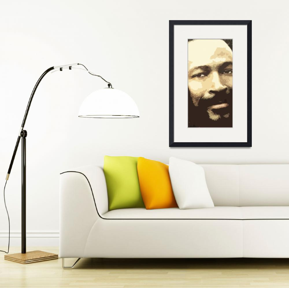 """""""Marvin Gaye&quot  (2009) by Brian60"""