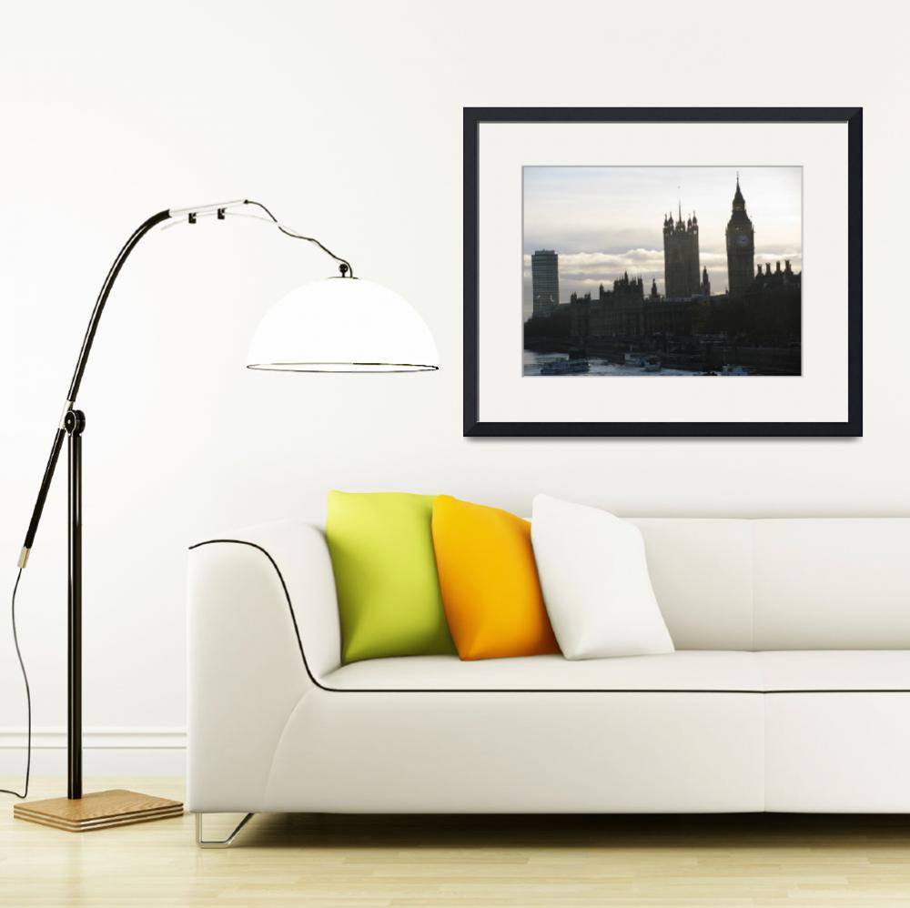 """""""Palace of Westminster&quot  by rebogamy"""