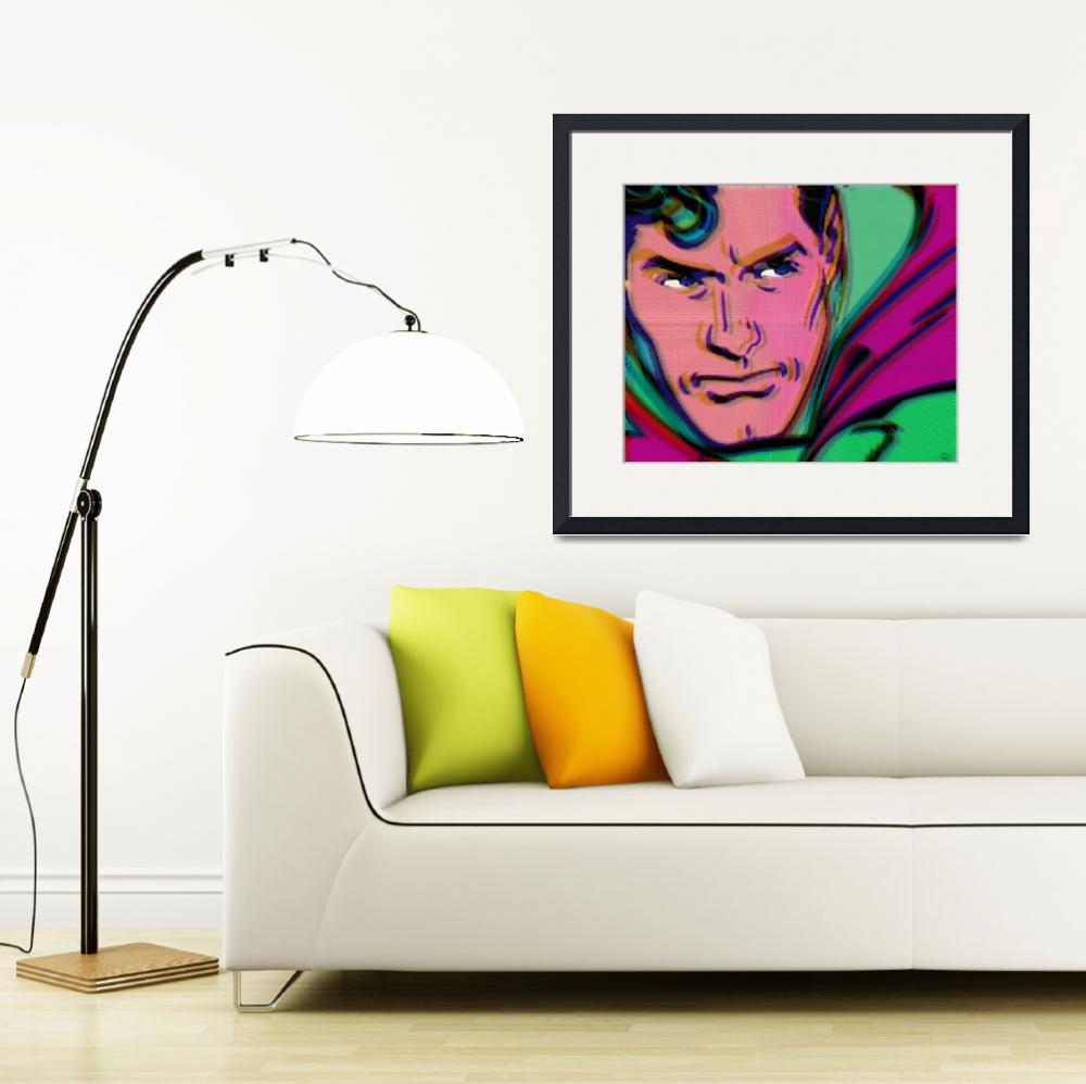 """Superman Pop 2""  (2015) by RubinoFineArt"