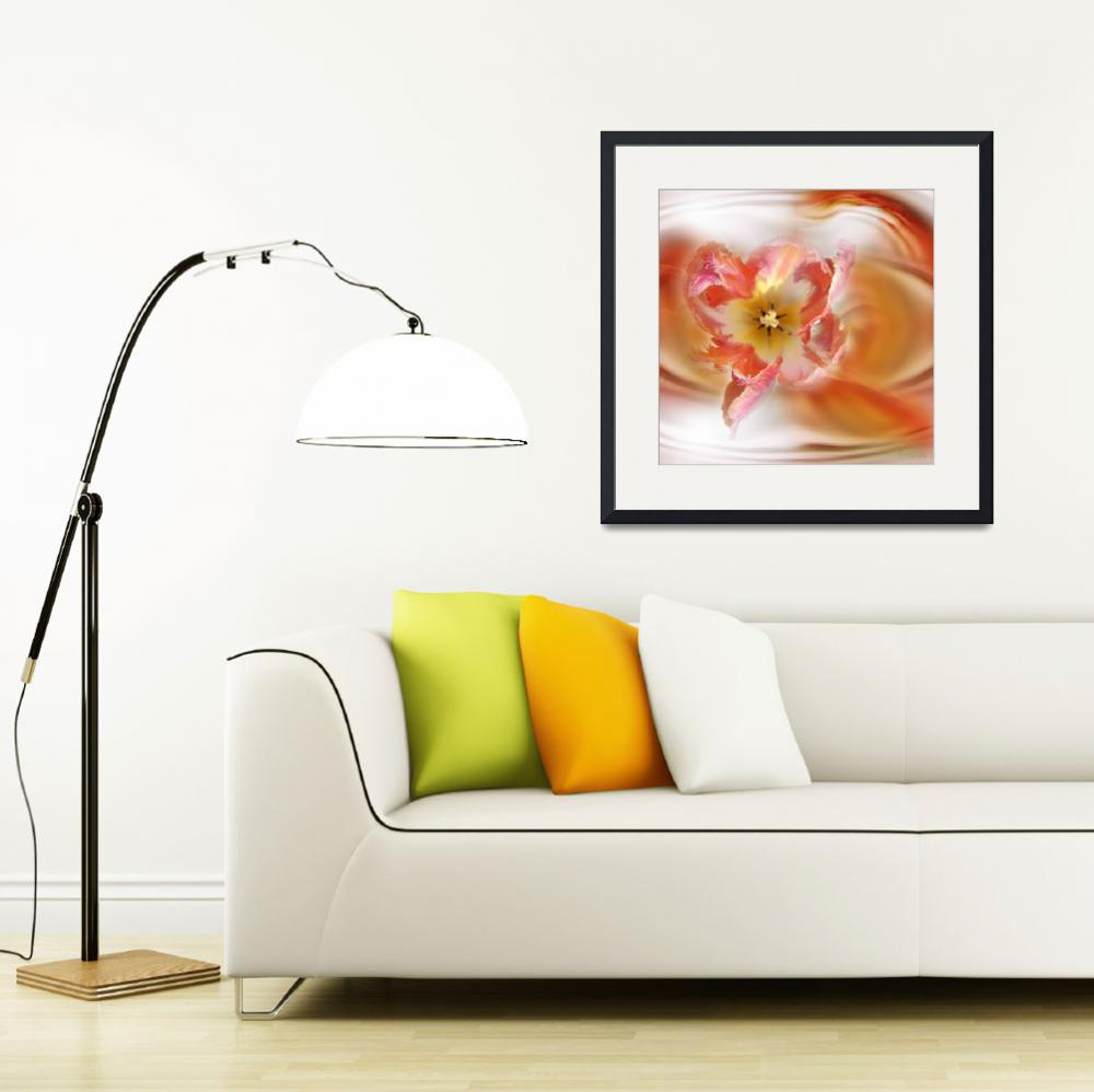 """""""The Sensual Tulip""""  (2009) by AnneVis"""