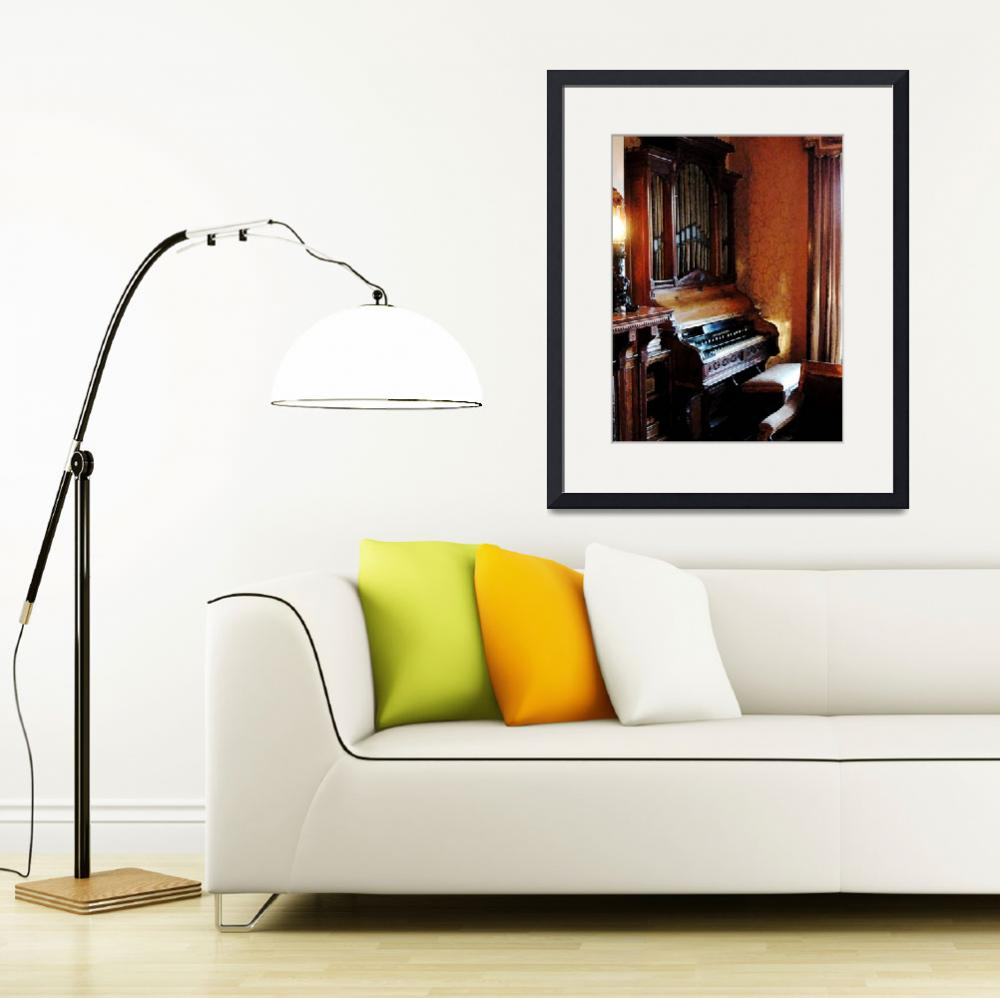 """Pipe Organ In Living Room&quot  by susansartgallery"