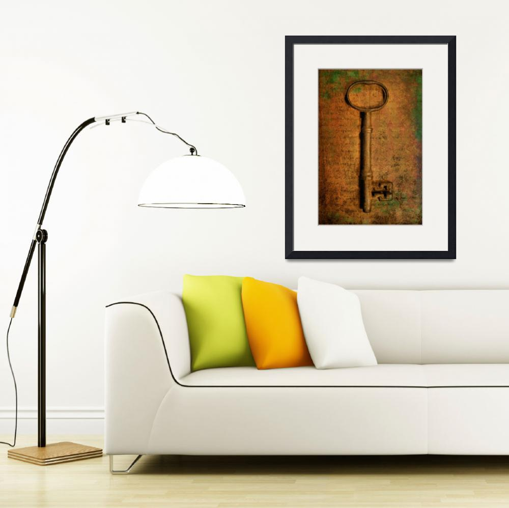 """""""An Old Key&quot  (2012) by brianraggatt"""