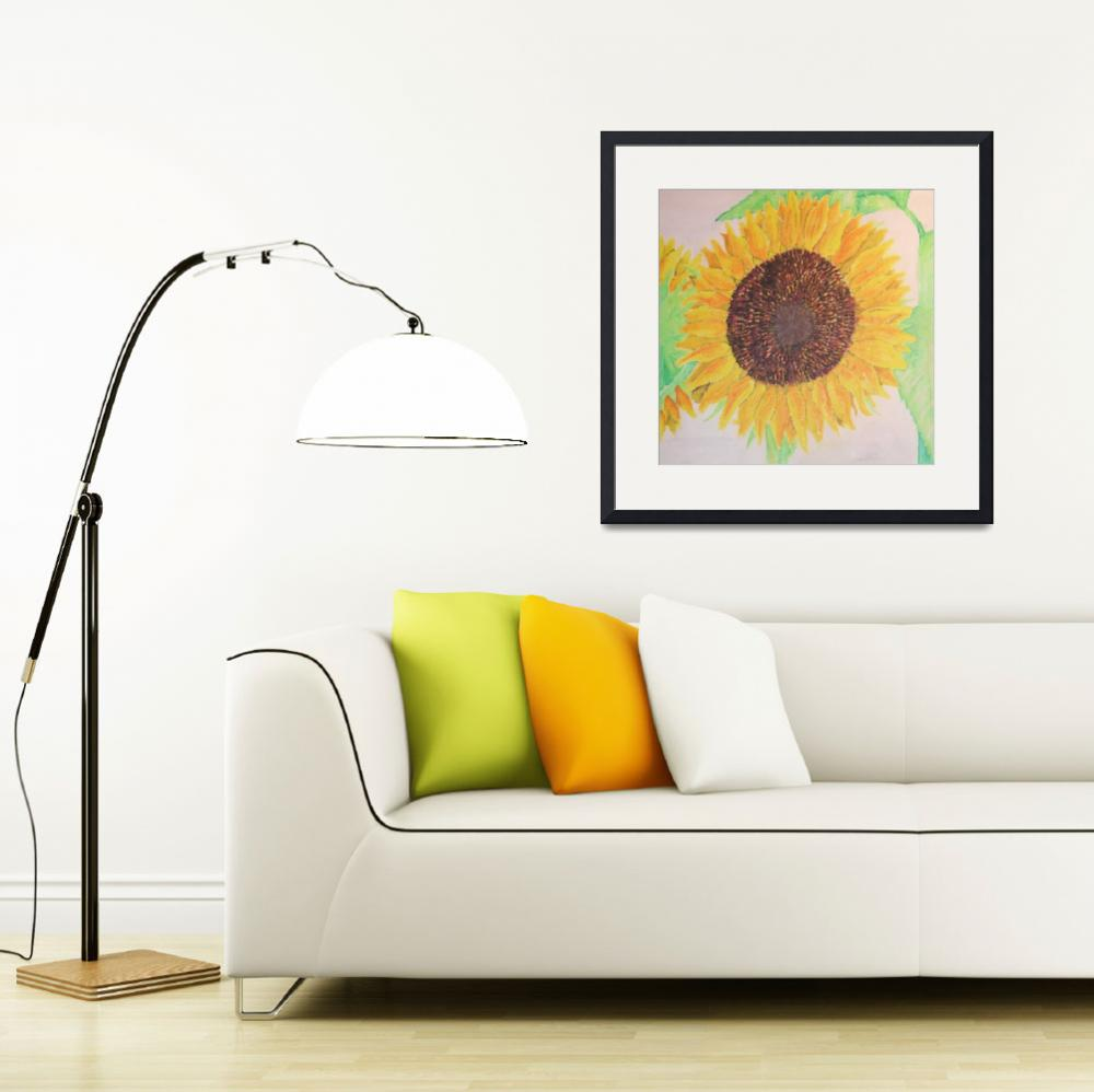 """Sunflowers""  (2006) by bobbiewilson"