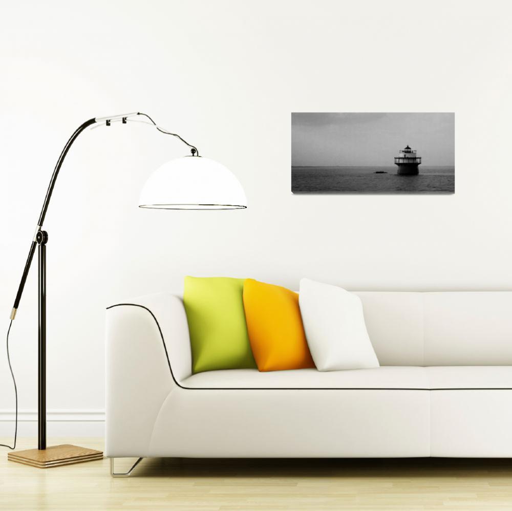 """Duxbury Pier, Bug Light&quot  by EdgewaterGallery"