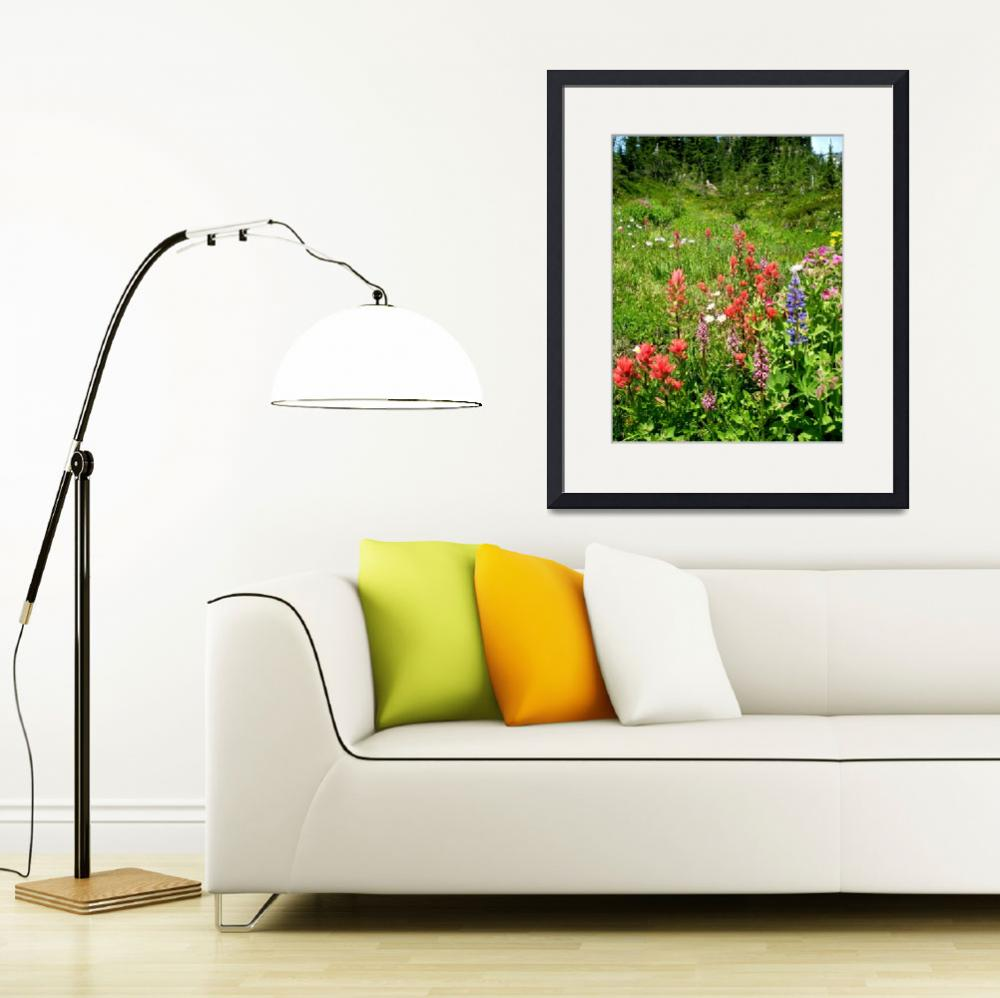 """""""Wildflowers -Mt.Adams trail&quot  by ATDesigns"""