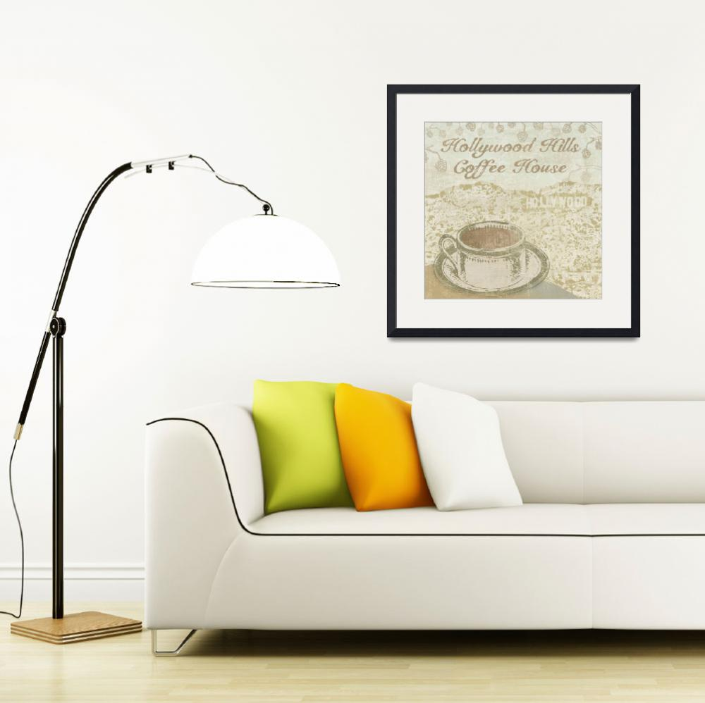 """""""Hollywood Coffee House""""  by artlicensing"""