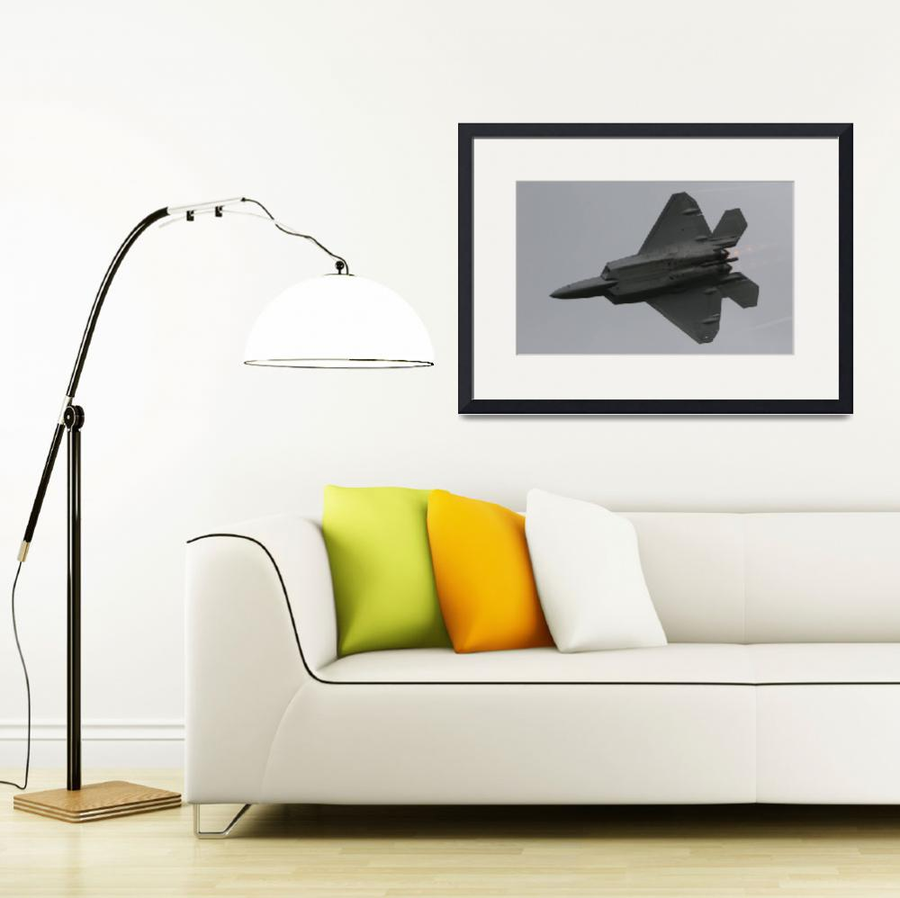 """F-22 Raptor""  (2008) by ColinBody"