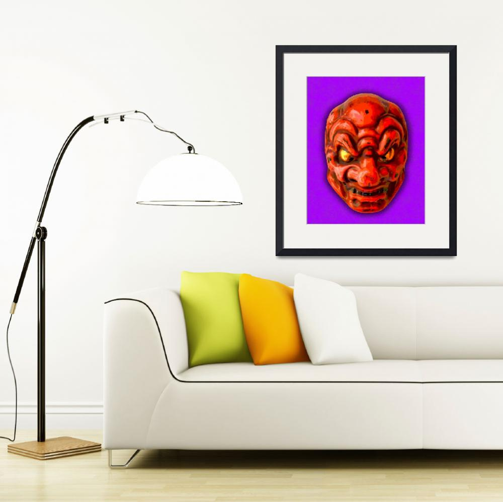 """""""Noh Mask IV&quot  (2010) by bobb"""