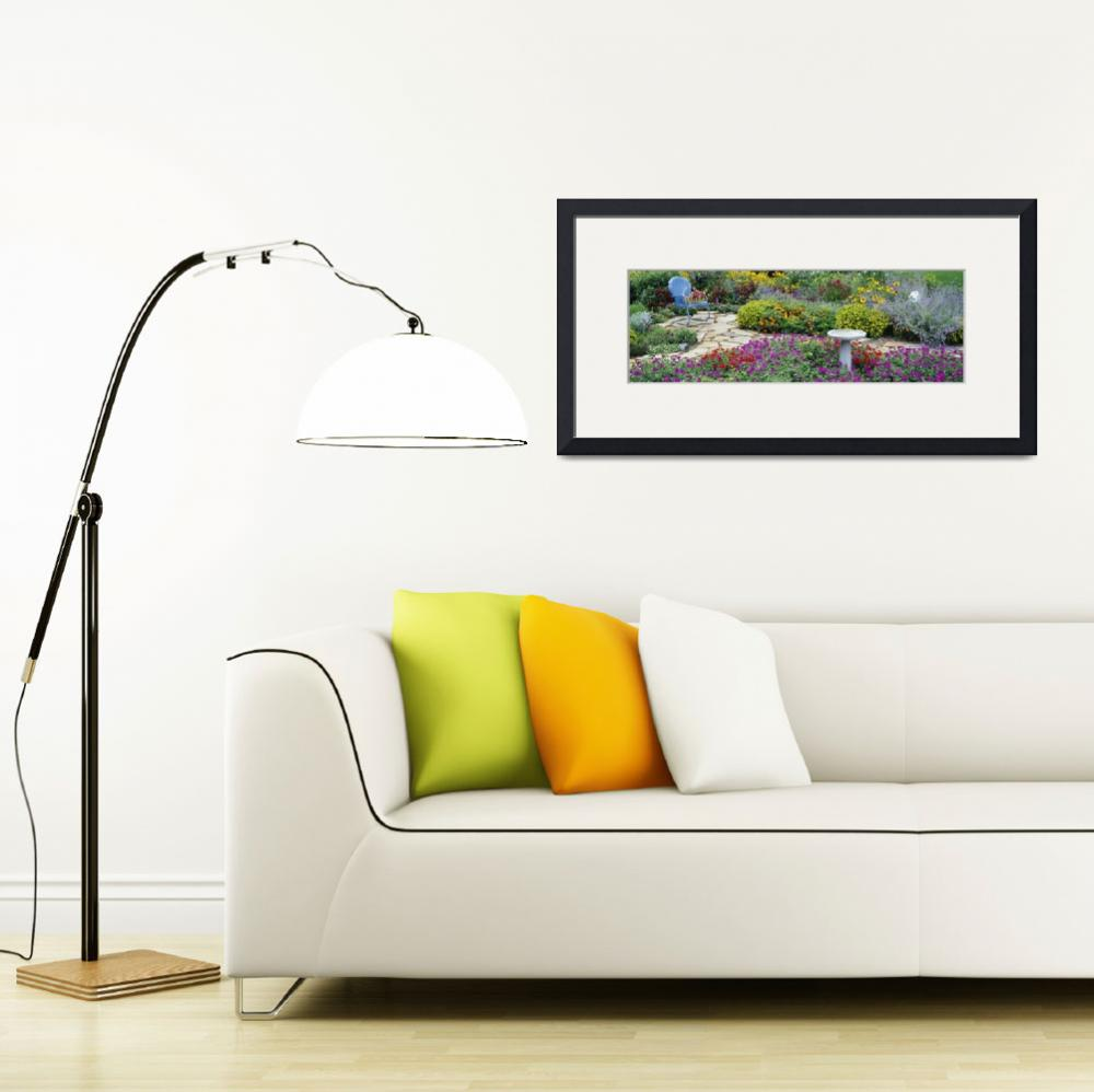 """""""Armchair in a garden&quot  by Panoramic_Images"""
