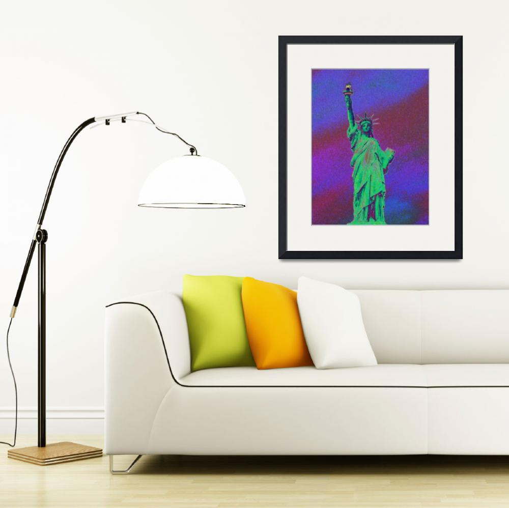 """""""Statue of Liberty PoPaRt- 158&quot  by coolnycgifts"""