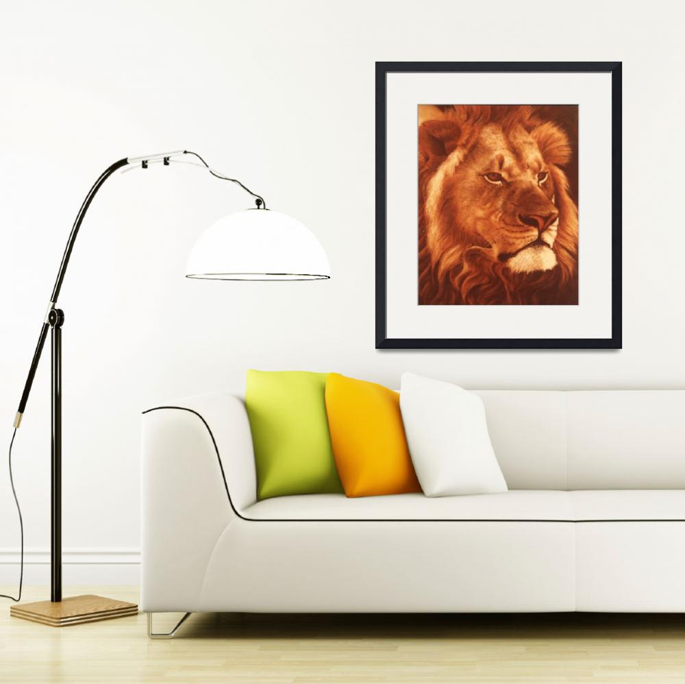 """""""King of the Jungle&quot  (1978) by halstanford"""