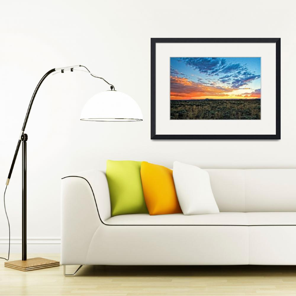 """Taos sunset July 17 2012&quot  (2012) by TaosFineArtPhotography"