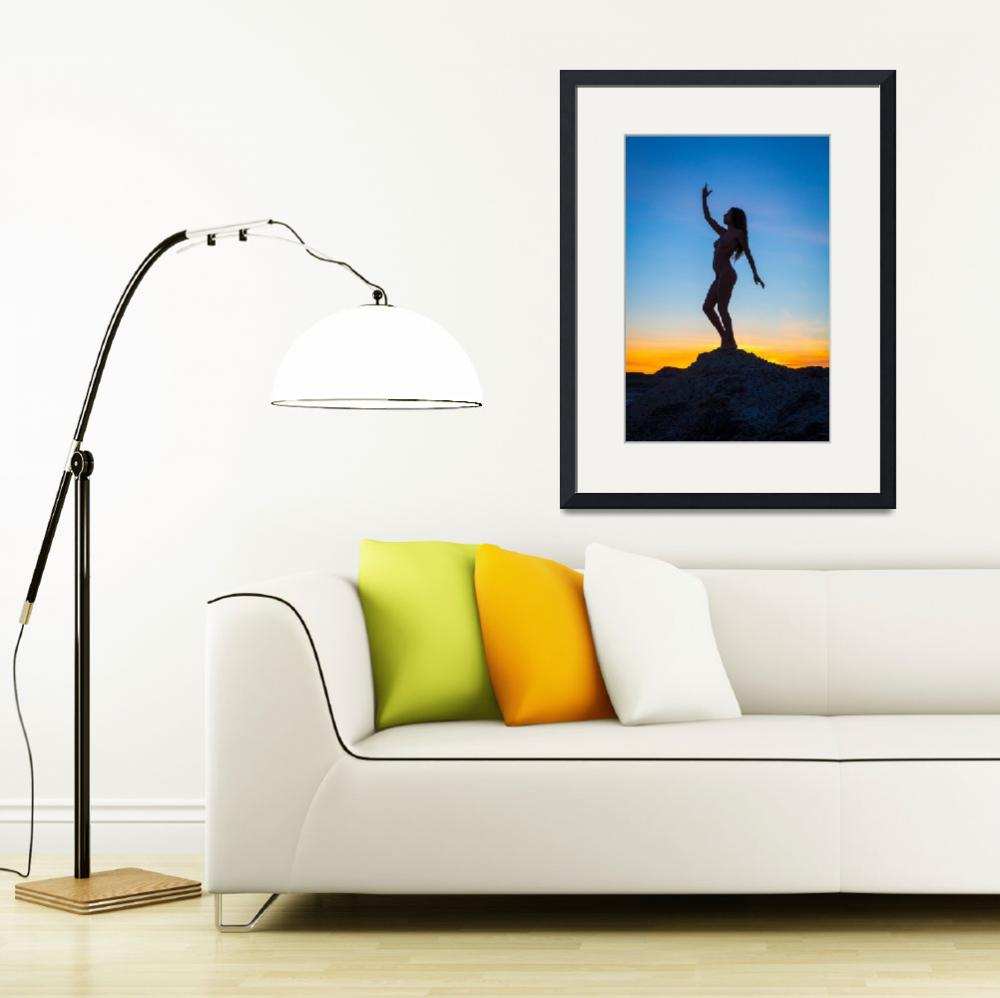 """""""Silhouette&quot  (2015) by Inge-Johnsson"""