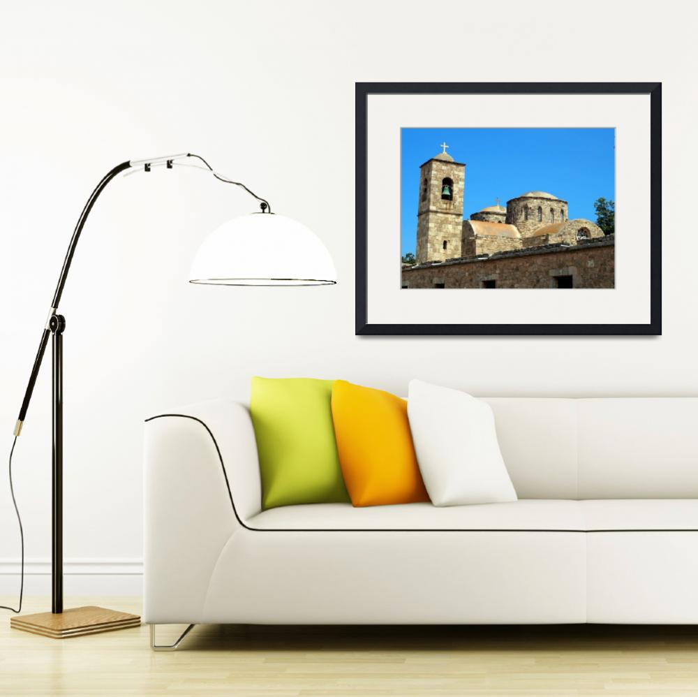 """""""Monastery of Saint Barnabas in Cyprus&quot  by Artsart"""