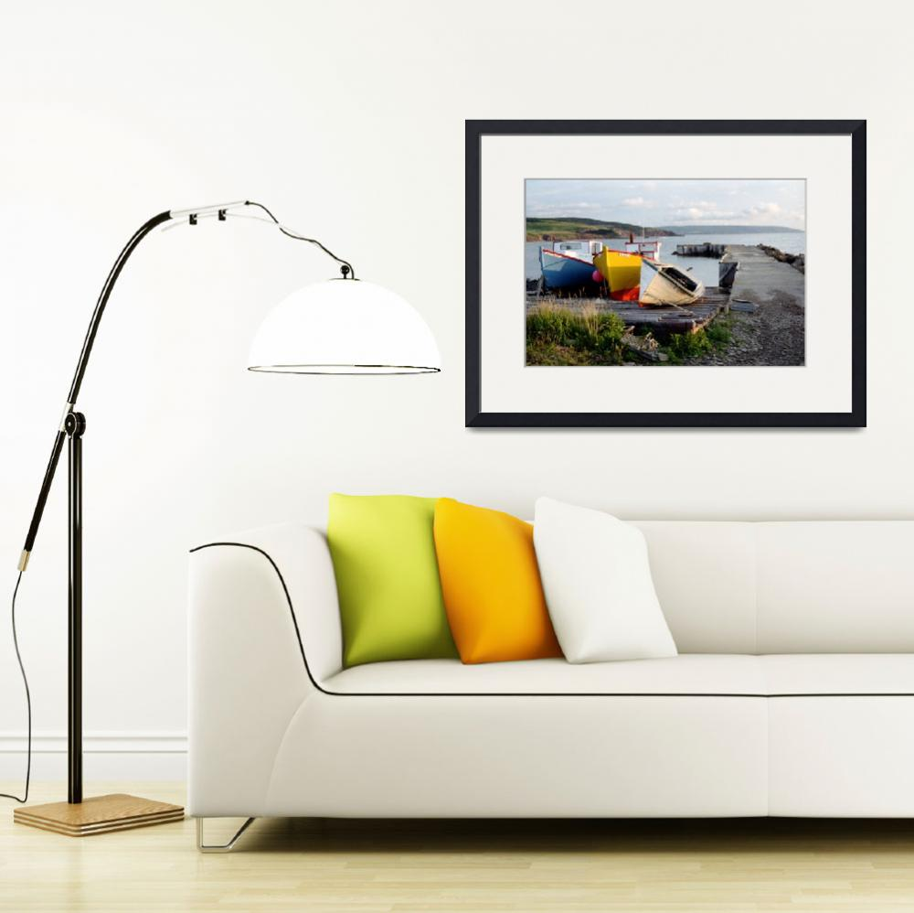 """""""Three Sisters - Broadcove, Nova Scotia&quot  by ve1mos"""