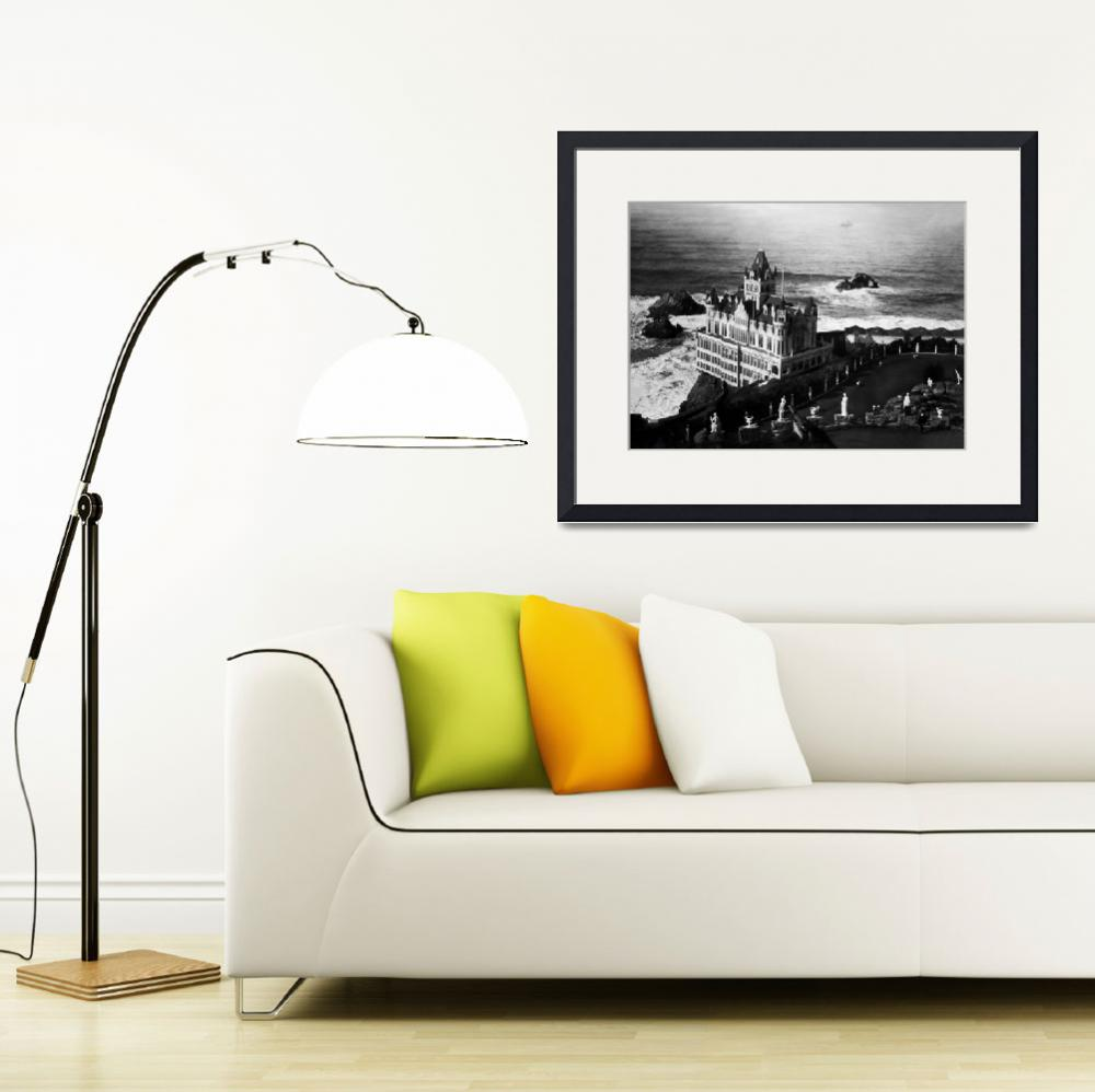 """""""Cliff House & Seal Rocks, San Francisco history""""  by worldwidearchive"""