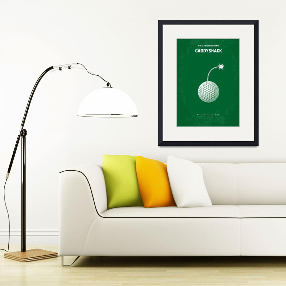 """""""No013 My Caddyshack minimal movie poster&quot  by Chungkong"""