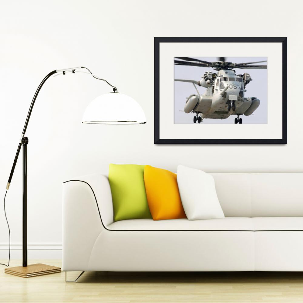 """""""A US Marine Corps CH53E Super Stallion&quot  by stocktrekimages"""