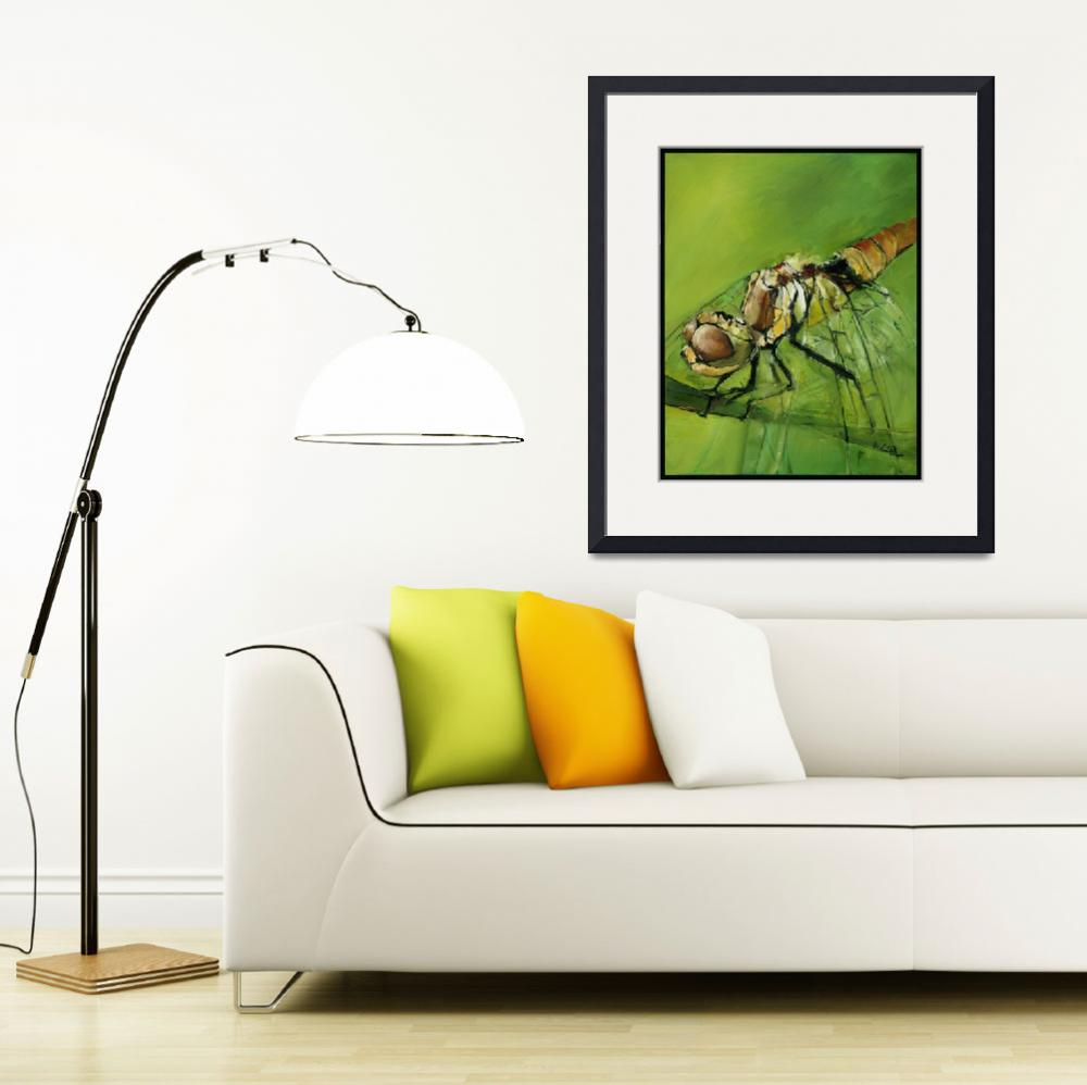 """Dragon Fly&quot  (2008) by drewdavisfineart"