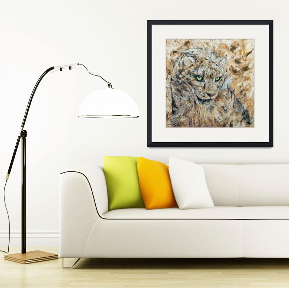 """""""Snow Leopard&quot  by creese"""