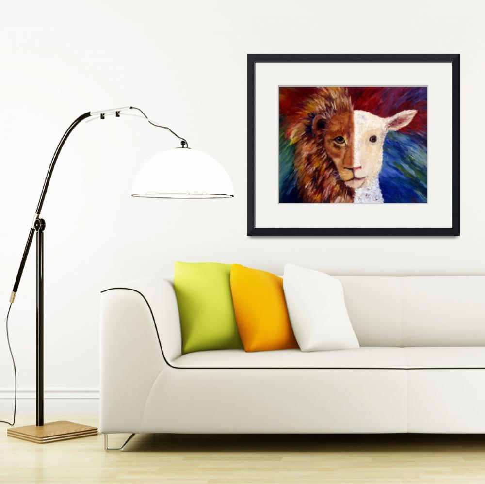 """""""The Lamb is a Lion&quot  by soltho"""